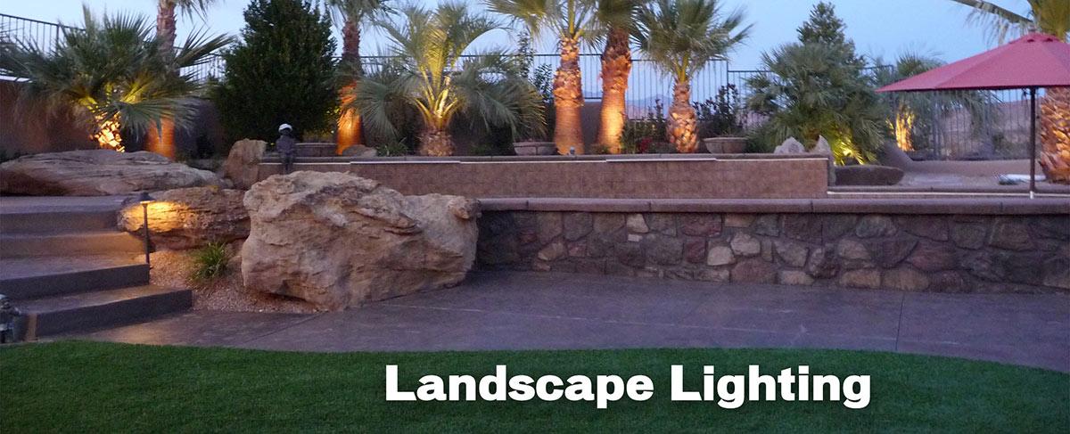 Landscape Lighting In St George Utah